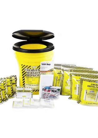 Deluxe Emergency Honey Bucket Kits (4 Person Kit)