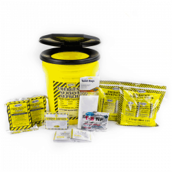 Economy Emergency Honey Bucket Kits (2 Person Kit)