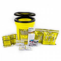 Economy Emergency Honey Bucket Kits (2 Person Kit)
