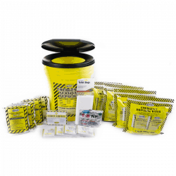 Economy Emergency Honey Bucket Kits (4 Person Kit)