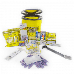 Deluxe Emergency Honey Bucket Kits (2 Person Kit)