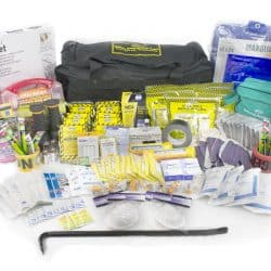 Deluxe Office Emergency Kit on Wheels (10 Person)