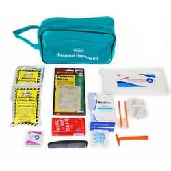 Deluxe Personal Hygiene Kit (21 Piece)