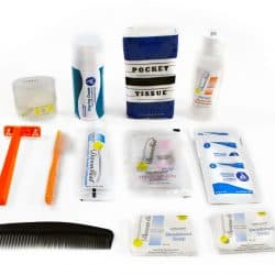 Personal Hygiene Kit, 14 Piece (Male)