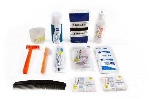 Personal Hygiene Kit, 14 Piece (Male)