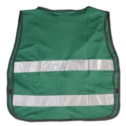 CERT Vest Green With No SIlk Back