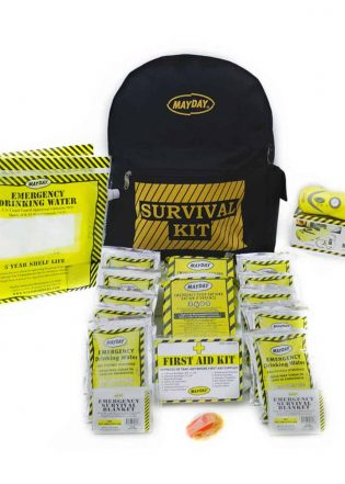 Economy Emergency Backpack Kits (2 Person Kit)