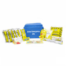 School Emergency Kit *New Improved* (18 Piece)