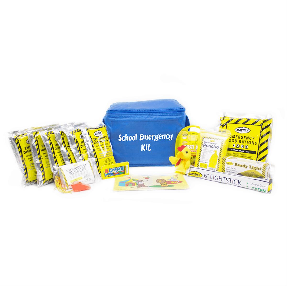 School Emergency Kit *New Improved* (18 Piece)