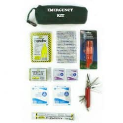 Small Roll Bag Emergency Kit (14 Piece)