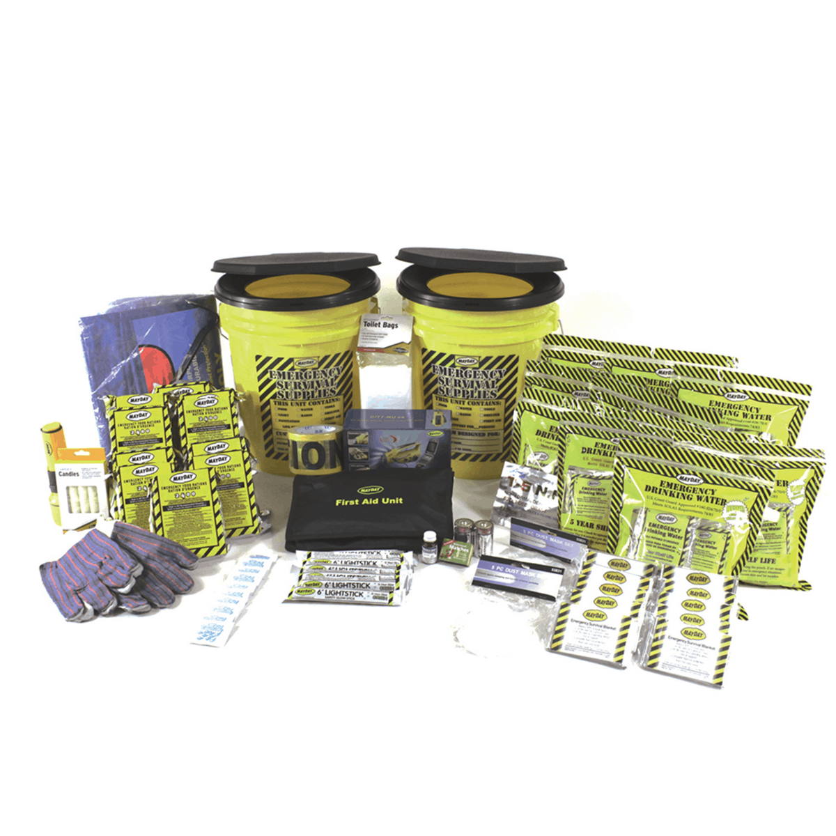 Deluxe Terrorism Emergency Kit (10 Person) \u2013 American Family Safety