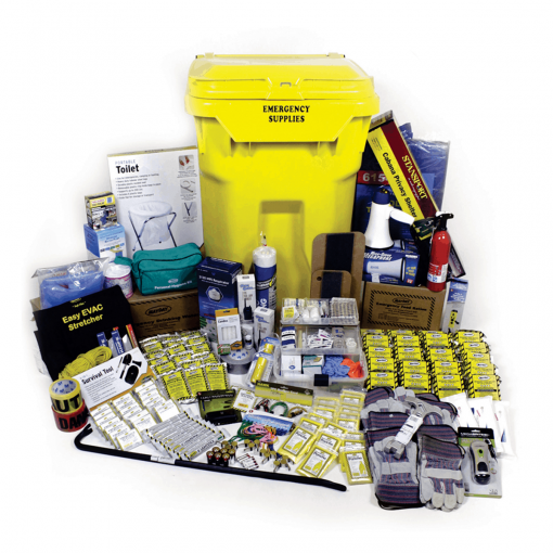 Deluxe Office Emergency Kit on Wheels (20 Person)