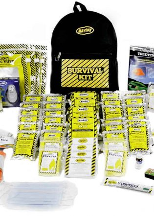 Premium Emergency Backpacks Kit 4 person