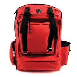 Deluxe Red Back Pack