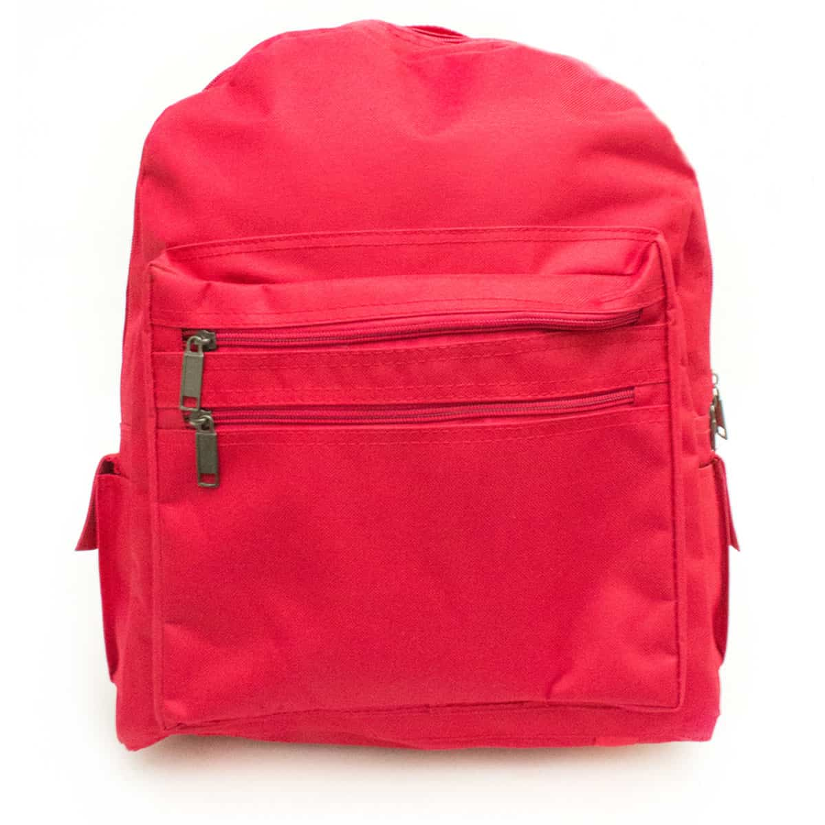 RED Adult Size Back Pack