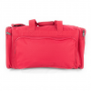 "Sports Bag Red Color 21""x10.25""x9.5"""