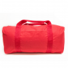 Economy Square Duffel – Red Poly 19″x9″x9″