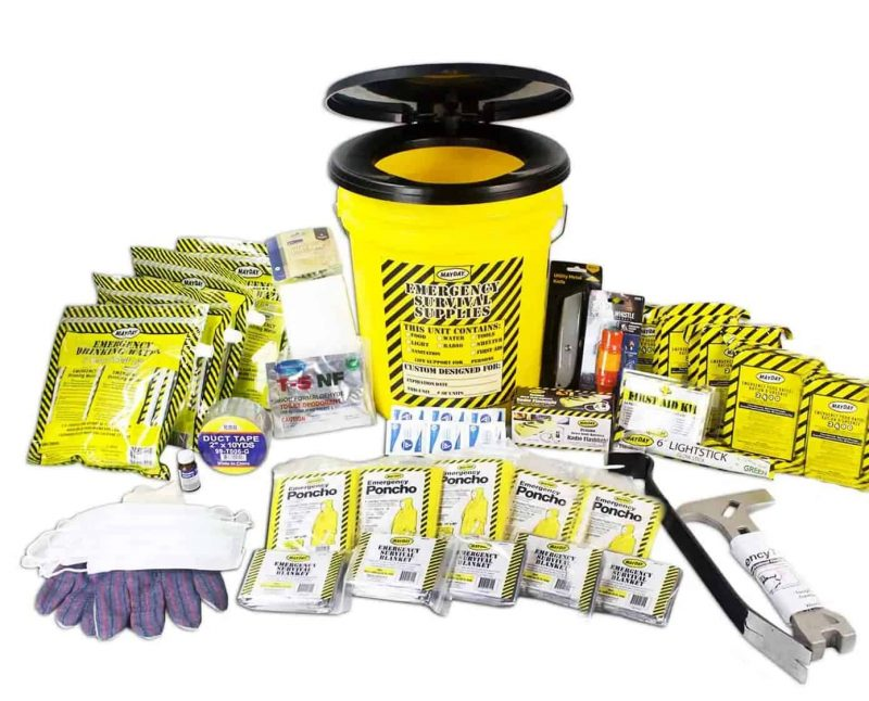 Premium Emergergency Honey Bucket kits (5 person) 13081