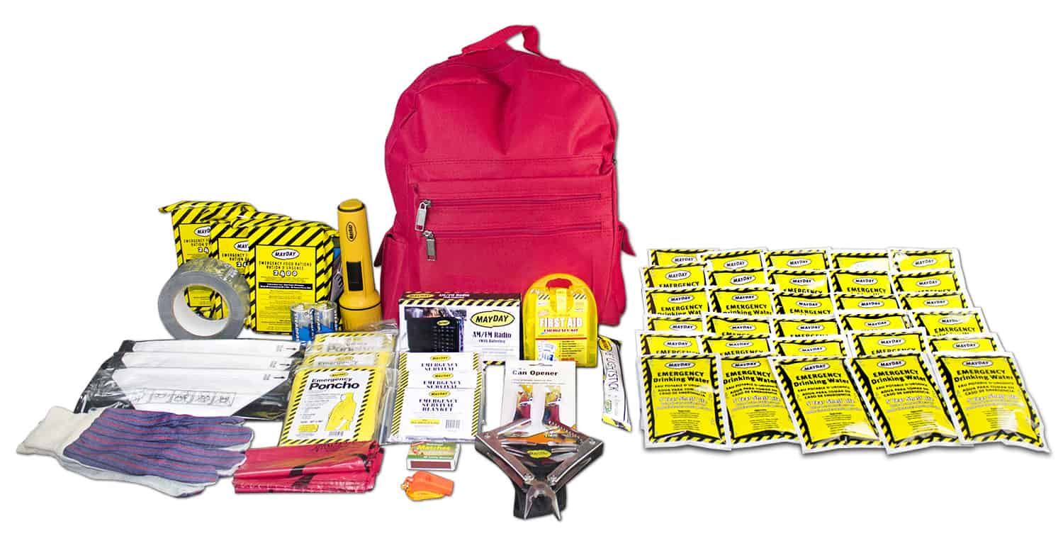 3-Person Deluxe 72 Hour Emergency Survival Kit