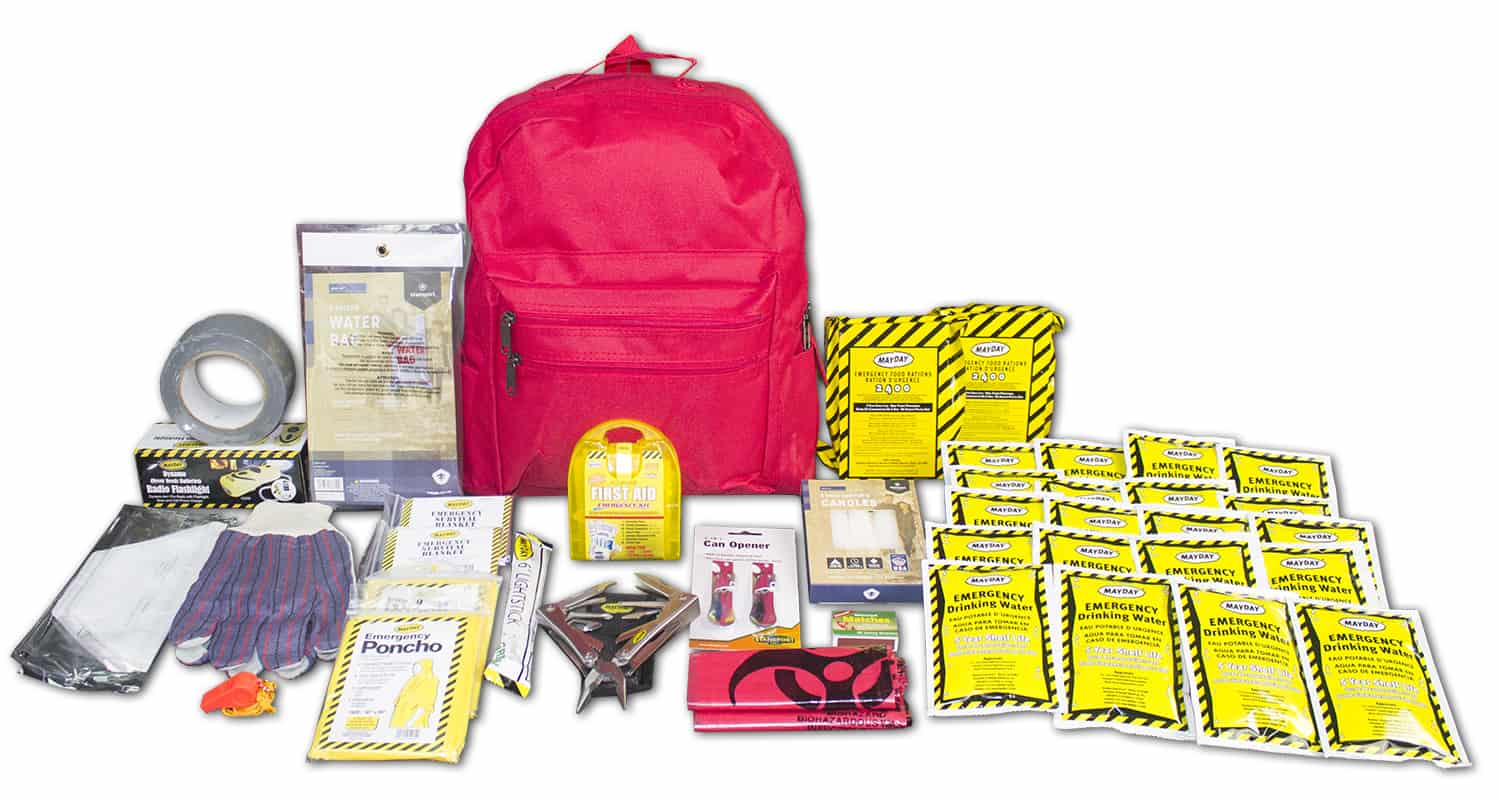 Deluxe 72 Hour Emergency Survival Kit - 2 Person