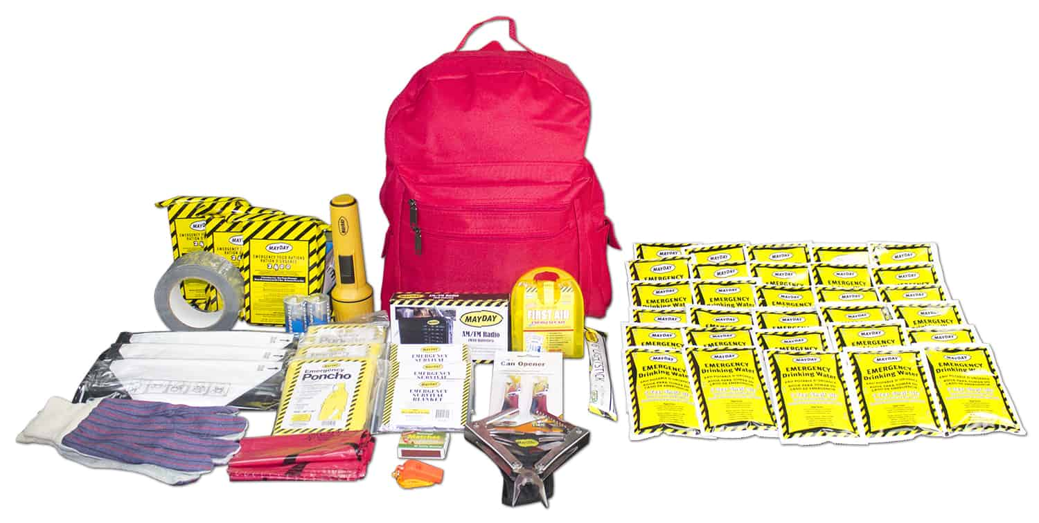 72 Hour Emergency Survival Kit - 3 Person