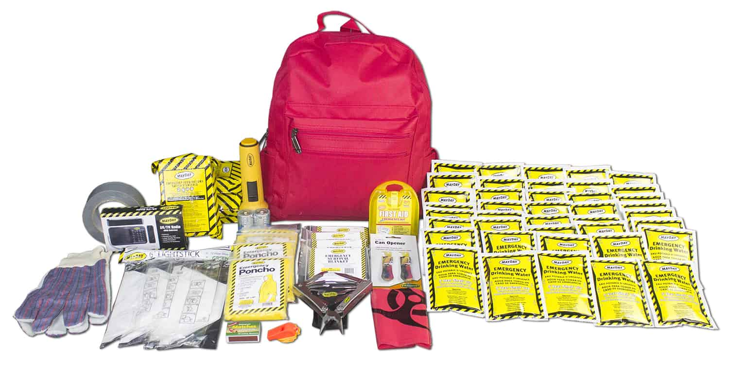 72 Hour Emergency Survival Kit - 4 Person