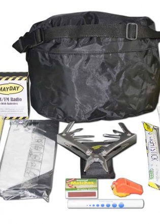 1 Person Emergency Fanny Pack Kit