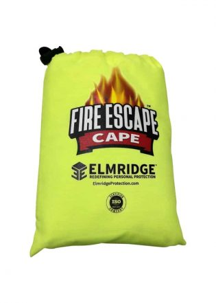 Fire Escape Cape in Bag