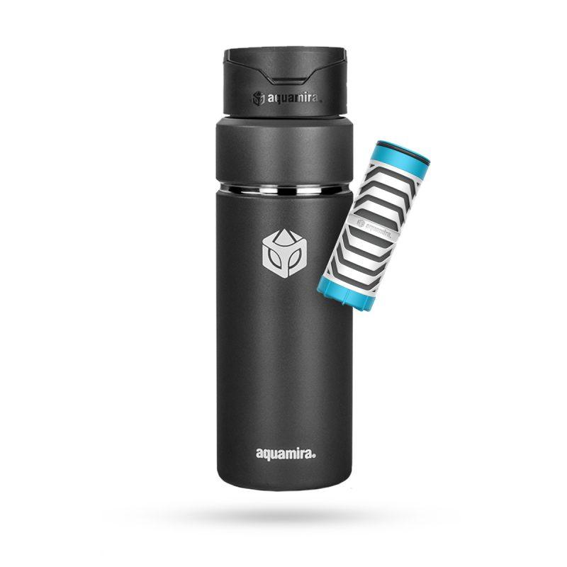 Aquamira Shift Bottle 24oz Black