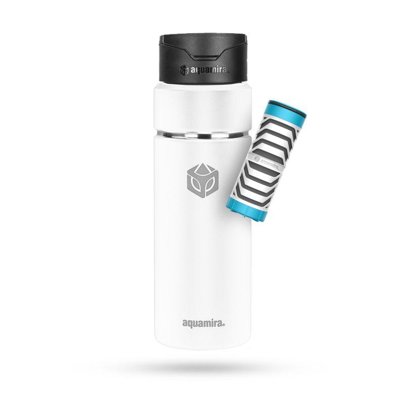 Aquamira Shift Bottle 24oz White